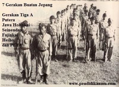 7 Macam 0rganisasi Bentukan Jepang di Indonesia