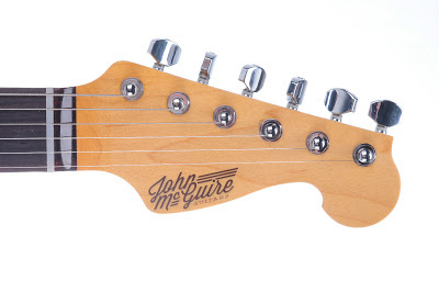 John McGuire Guitars Headstock