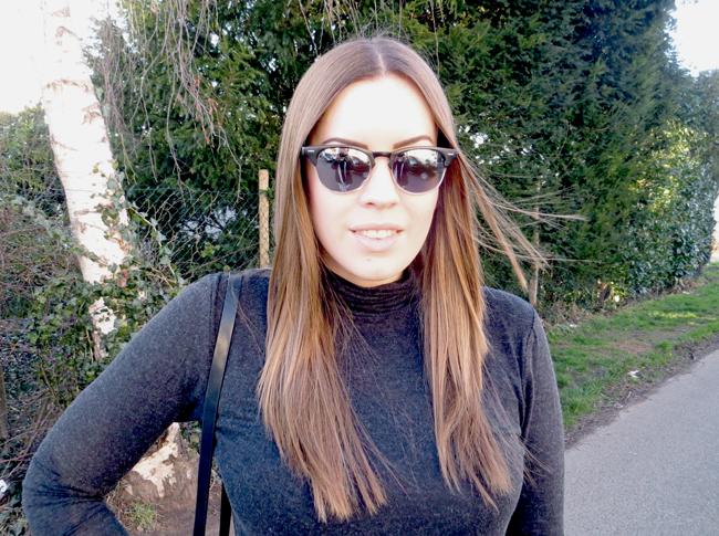 Le Specs Look-A-Like, Spiegel Sonnenbrille, graue Sonnenbrille, schwarze Sonnenbrille
