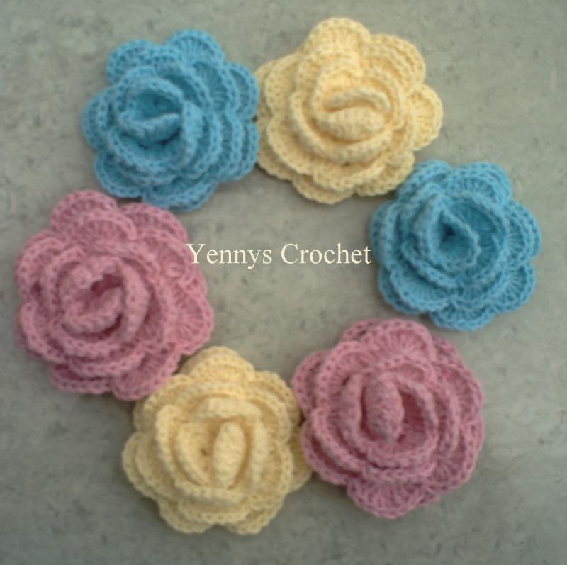 Rosas en Crochet