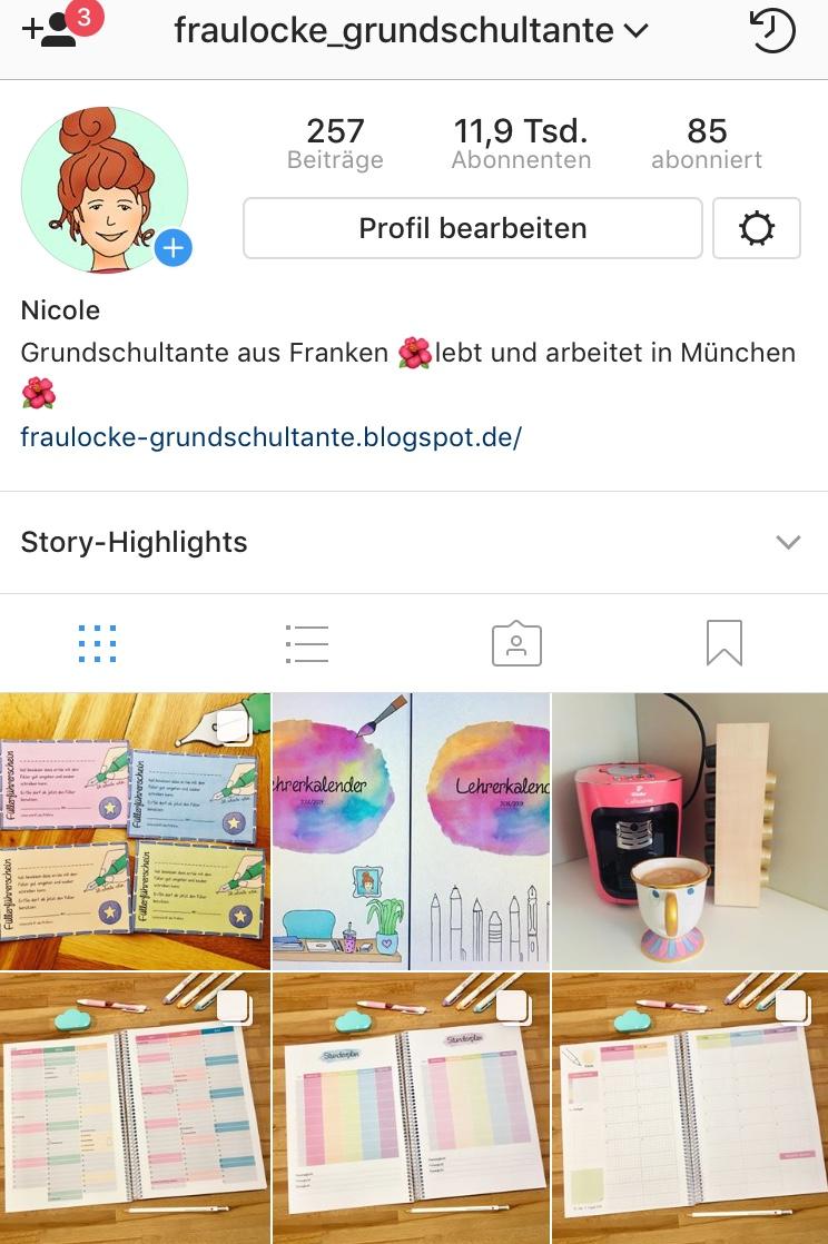 Frau Locke auf Instagram: fraulocke_grundschultante