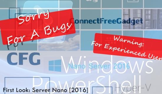 Windows Nano Server [+2016] - первый взгляд
