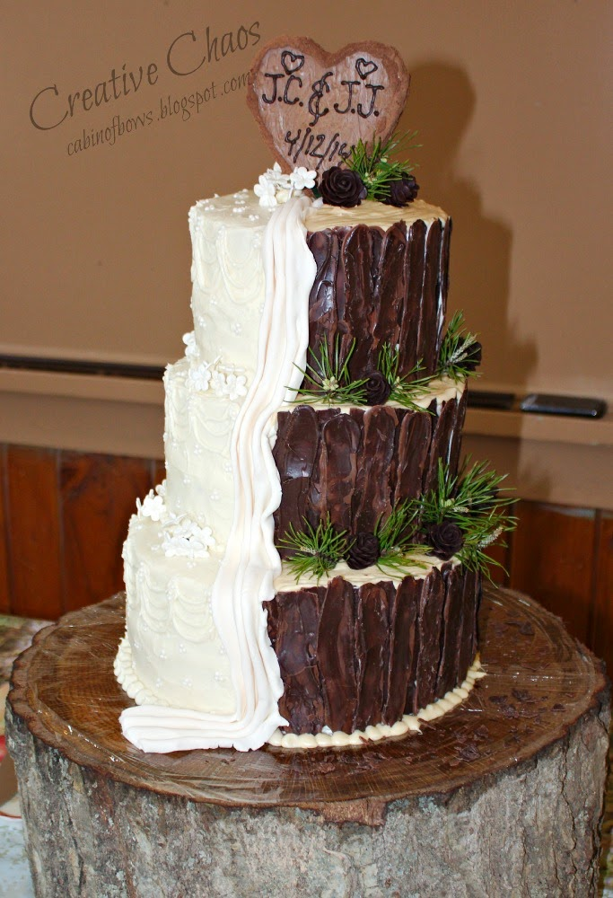 Gallery For Gt Country Camo Wedding Cakes