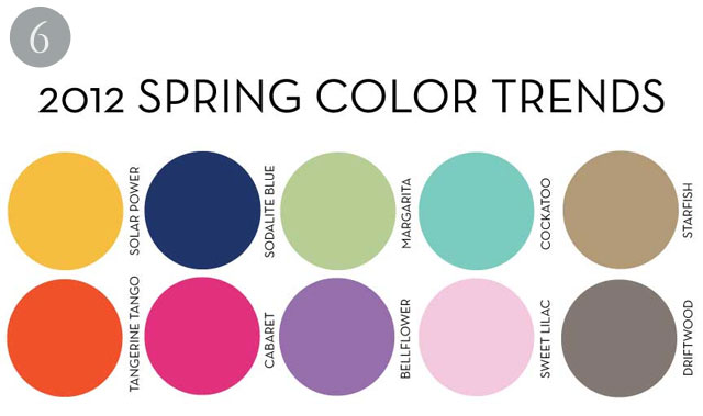 Wedding Cakes by Dawna: 2012 Spring Color Trends