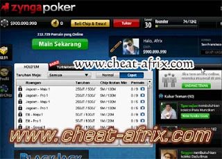 Cheat Chip Zynga Poker 2013 Update