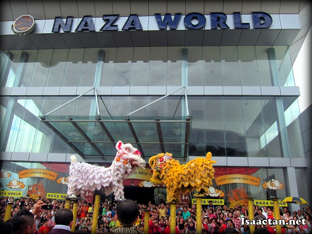 Lion Dances @ Naza World CNY Celebration