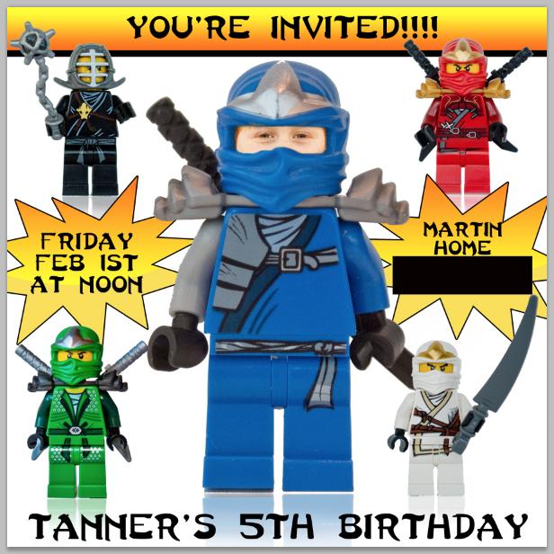 Our Sunny Life: LEGO ninjago party
