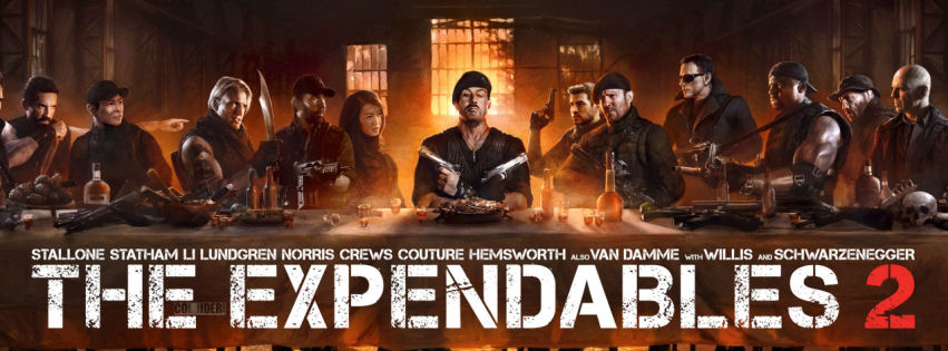 Expendaples 2 the last supper facebook cover