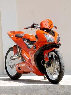 Gambar Modifikasi Motor Yamaha Jupiter Mx