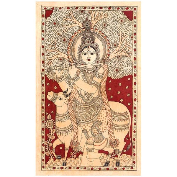 kalamkari an ancient indian art form Kalamkari, an ancient art form, is noted for its beautiful handpaintings on fabrics kalam means pen and kari means art, the name kalamkari has a persian originthis art form is being practiced in srikalahasthi and masulipattinam in andhra pradesh.