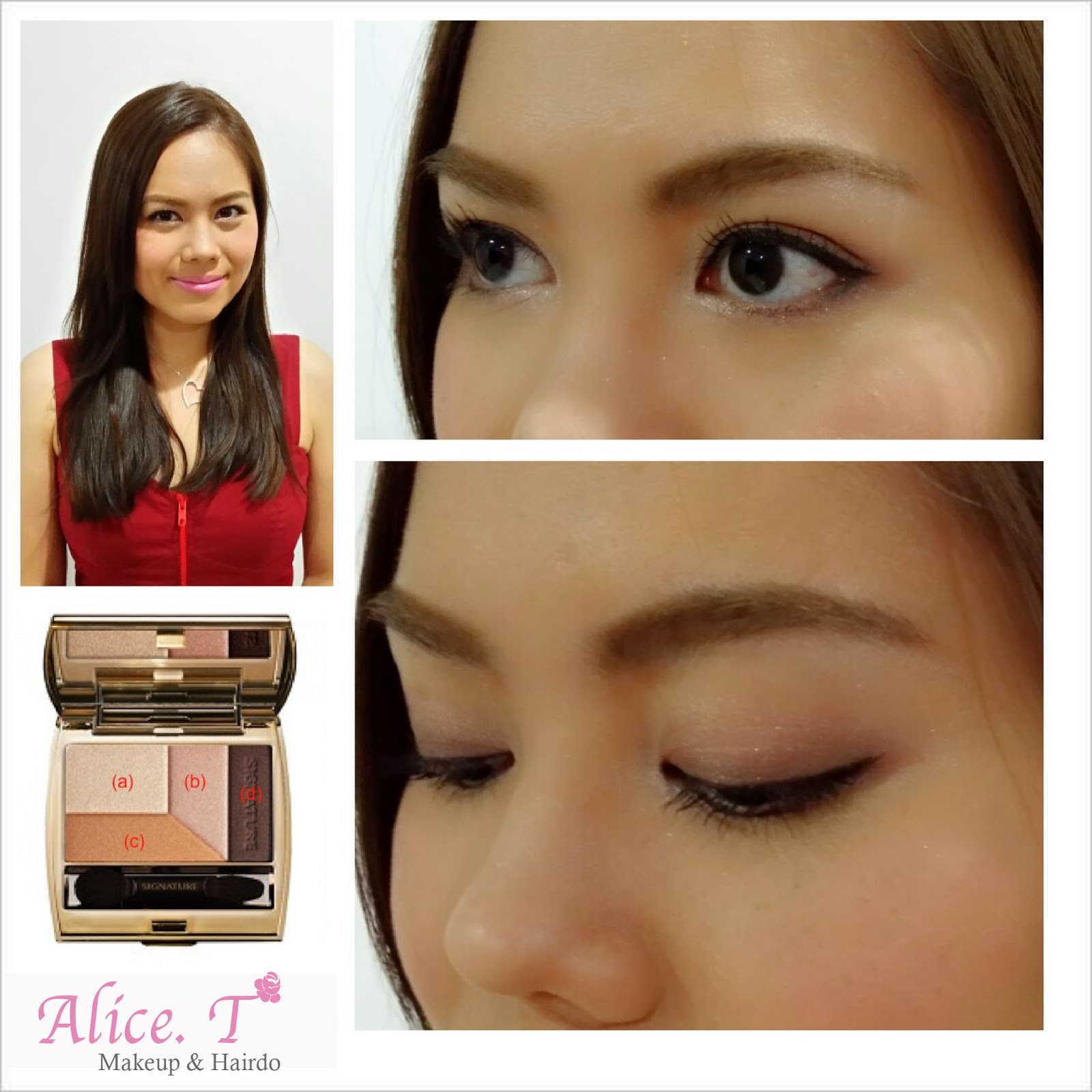 Alicet Makeup Hairdo Simple Quick Korean Makeup