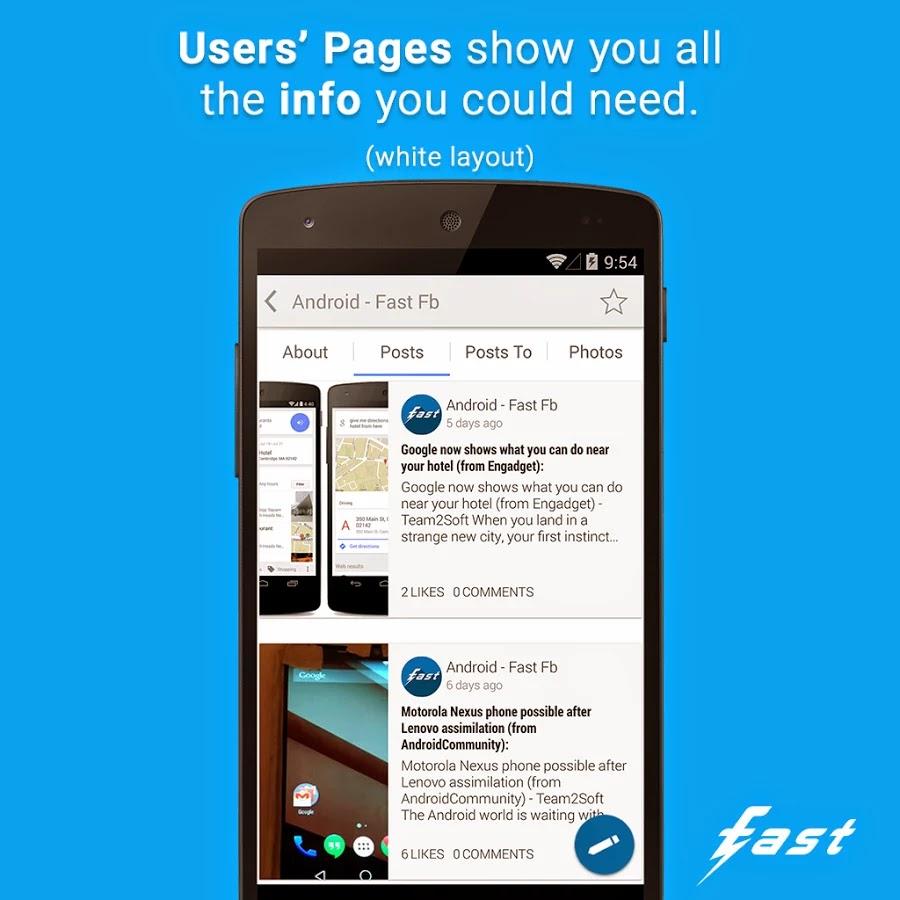 Fast Pro for Facebook v2.7.0
