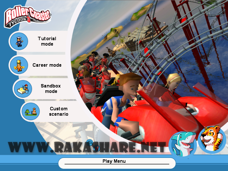 how to download roller coaster tycoon 3 for free
