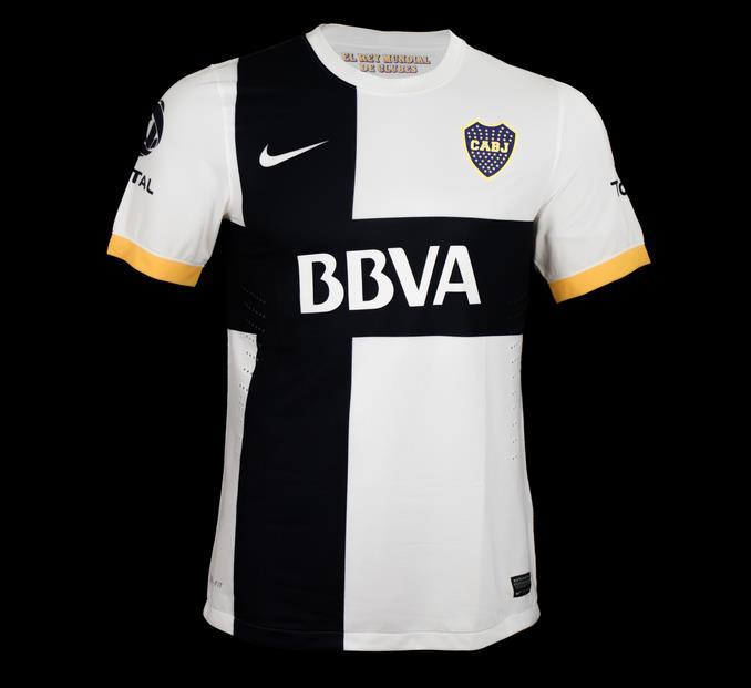 La nueva Camiseta de Boca Juniors 2012-2013