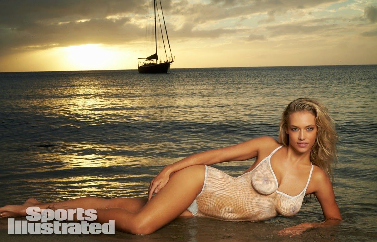 Hannah Ferguson Sports Illustrated 2014 Body Paint | Movies In ...