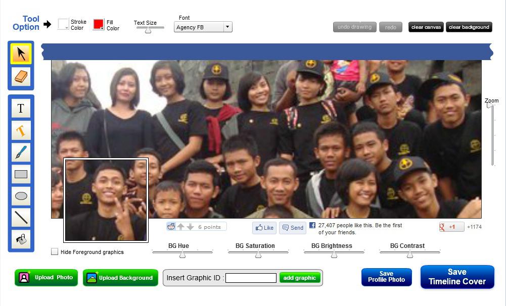 Cara Membuat Cover Timeline Menyambung dengan Foto Profil