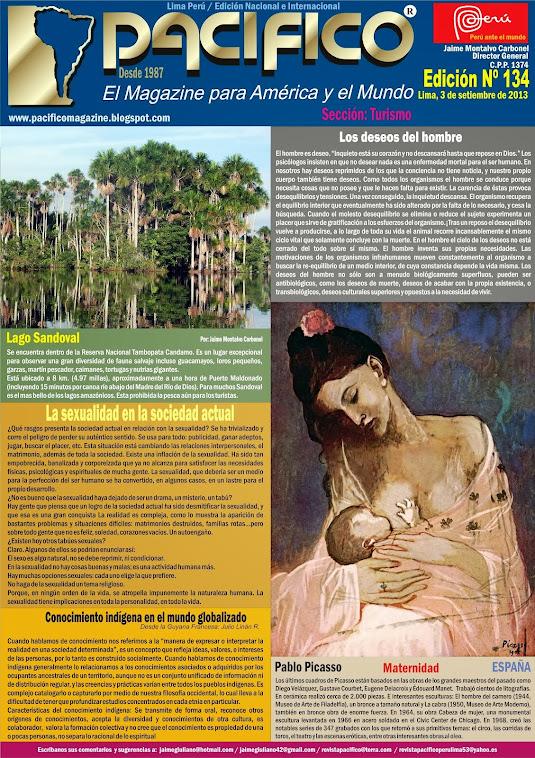 Revista Pacífico Nº 134 Turismo