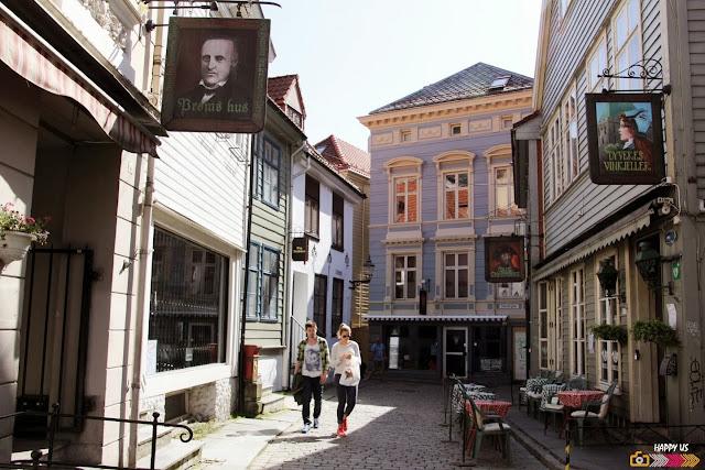 Rues de Bergen
