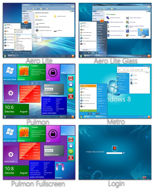 Windows 8 Skin Pack for Windows XP