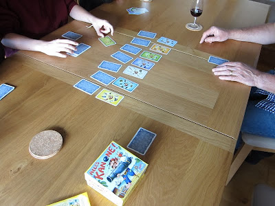 Alles Kanone! - The game in progress