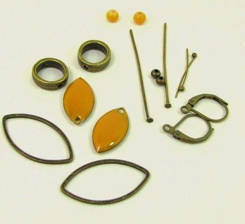 Mon bijou facile tutoriel boucles d 39 oreilles navettes maill es - Tuto boucle d oreille perle ...