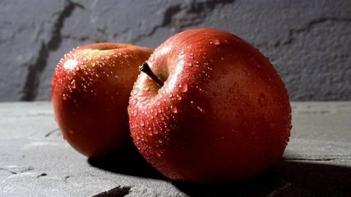 Притча о любви: Два яблока