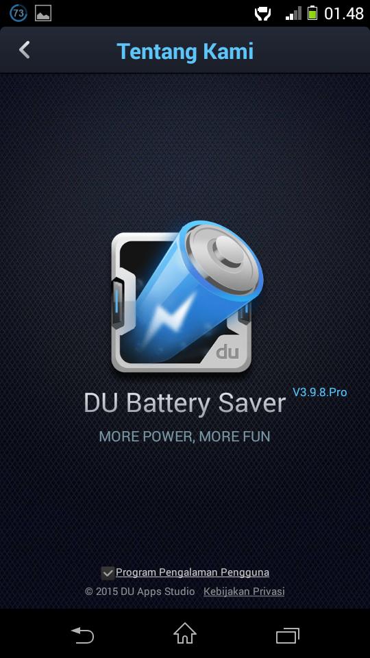 DU Battery Saver PRO Apk Terbaru