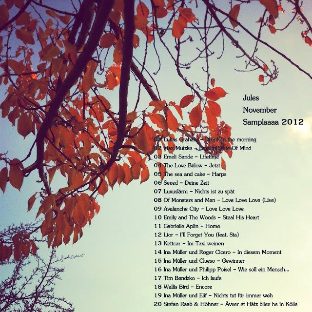 Jules November Samplaaa 2012