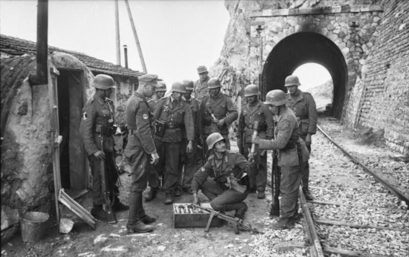 Вторая мировая война греция