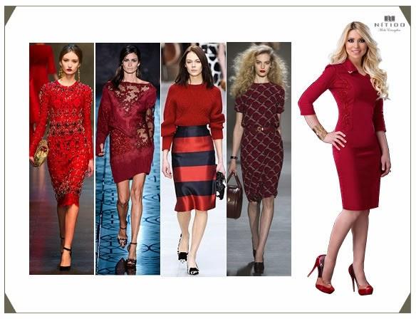 Tendência de cores com a Nítido: vermelho