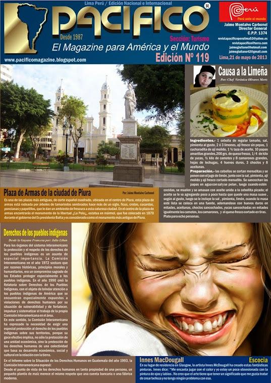 Revista Pacífico Nº 119 Turismo
