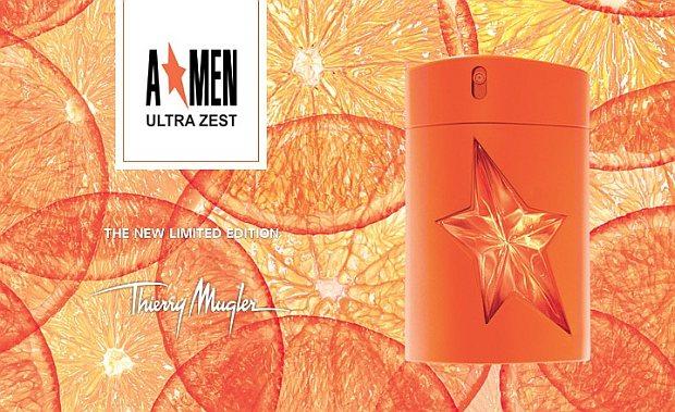 Thierry Mugler Ultra Zest - grafika promocyjna