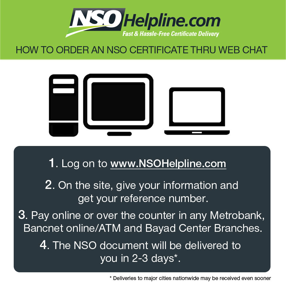 Nso helpline fast hassle free certificate delivery its this 2013 teleserv embarks on a brand relaunch aimed at enhancing the current nso birth certificate delivery service 737 1111 aiddatafo Choice Image