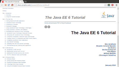 Official Java EE 6 Tutorial