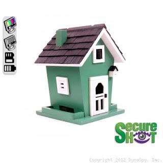 birdhouse hidden camera
