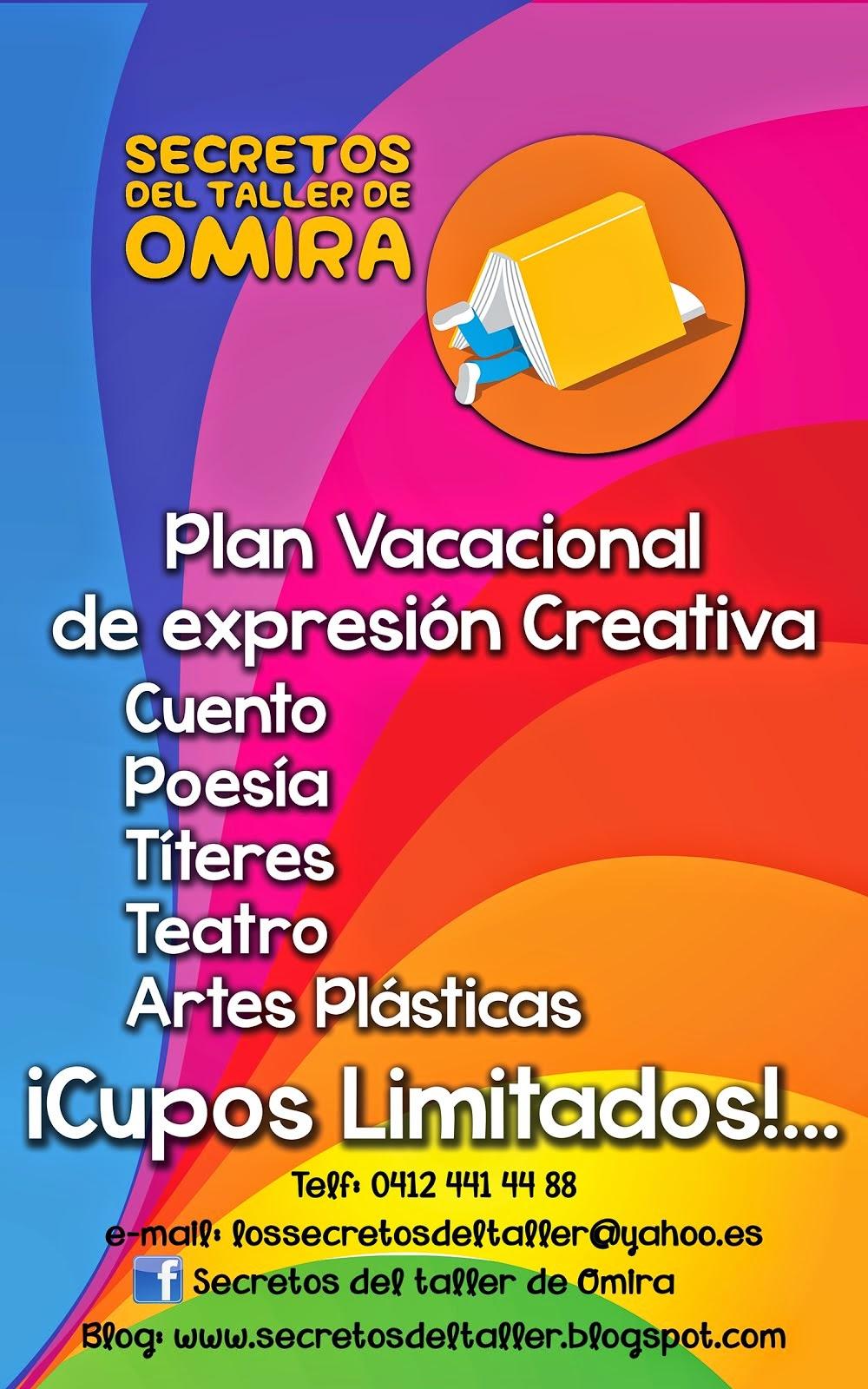 PLAN VACACIONAL JULIO- AGOSTO 2014 - Valencia / Venezuela