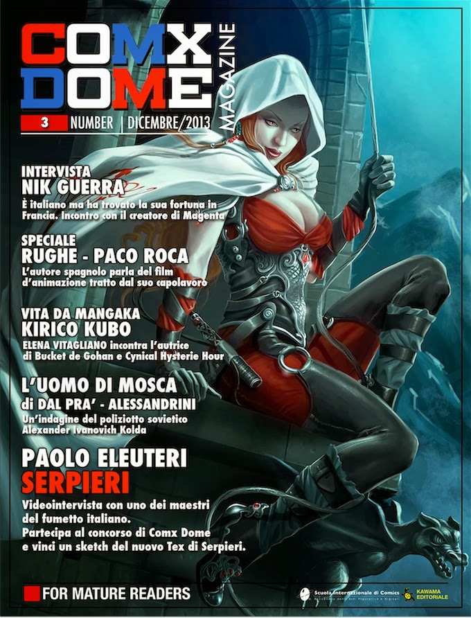 COMX DOME MAGAZINE