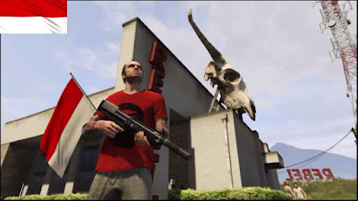 Mod Bendera Indonesia GTA V PC