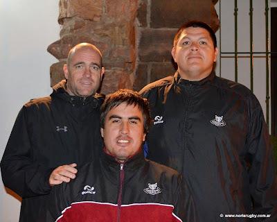 Sergio Abbate, Agustín Lopresti y Emilio Amadeo