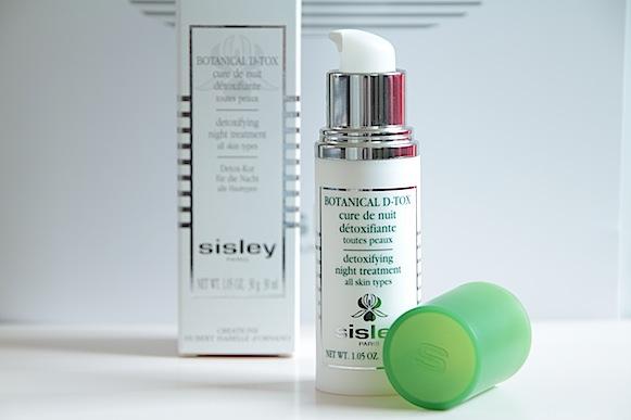 sisley botanical d tox detox cure de nuit détoxifiante avis test