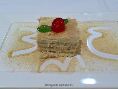 Restaurante Bella Napoli: Pavê Pistoia