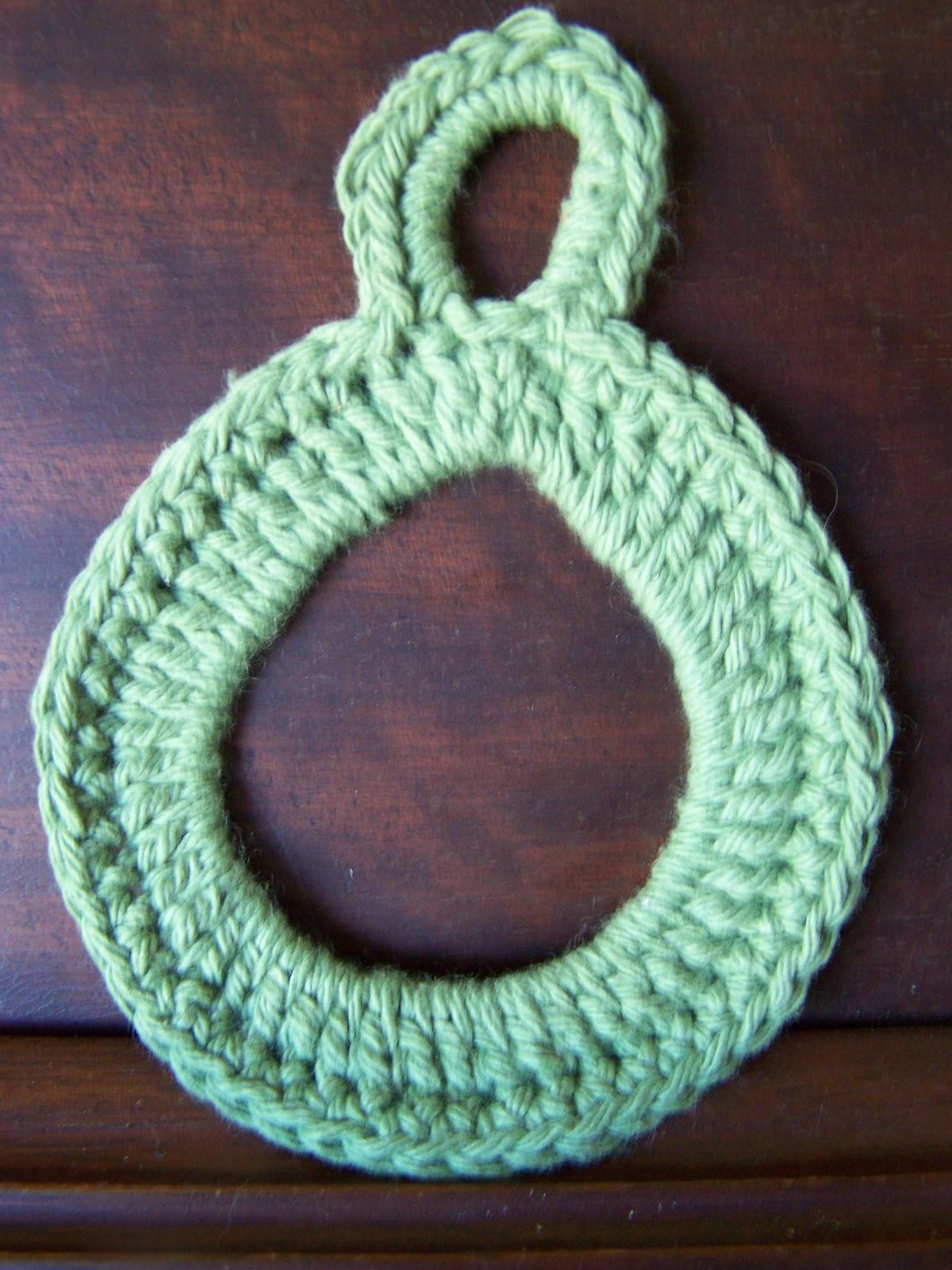 Dish Towel Ring Crochet Pattern