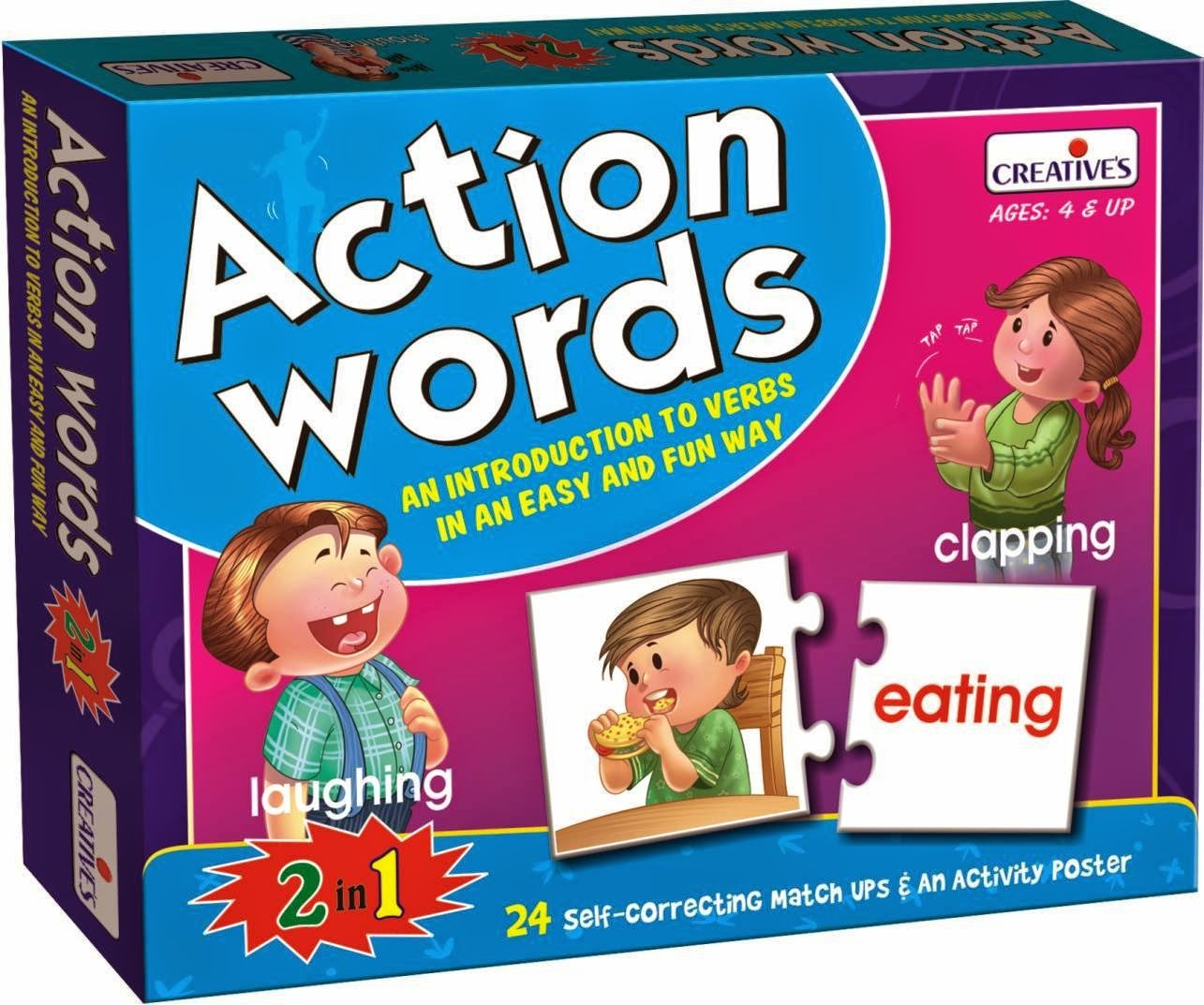 Amazon; Buy Creative Educational Aids 0642 Action Words at Rs. 158