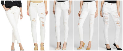 Joe Fresh Ultra Slim Jean $19.94 (regular $39.00)  GB Distressed Denim Skinny Jeans $32.40 (regular $54.00)  Paige Denim Jeans Verdugo Ultra Skinny $99.00 (regular $199.00)  True Religion Jeans Hall High Rise Skinny $99.00 (regular $218.00)  One Teaspoon Jeans Yardbirds Skinny $118.15 (regular $139.00)