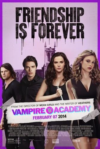 Póster final USA para Vampire Academy (2014), más nuevo clip