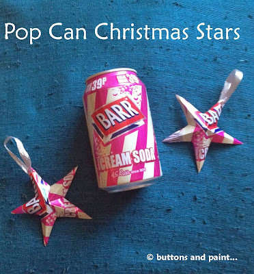 http://buttonsandpaint.blogspot.co.uk/2013/11/pop-can-stars.html
