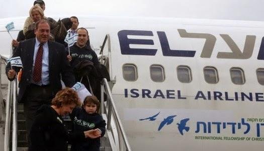 Judíos de Ucrania retornan a Israel