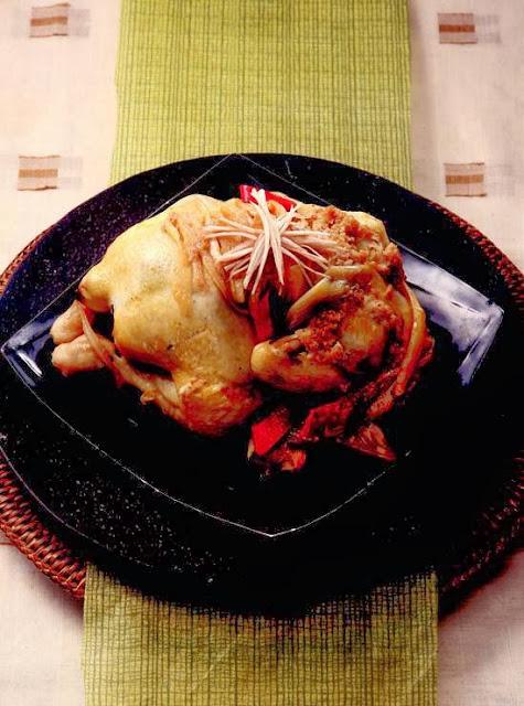 Chicken balloon flower stew