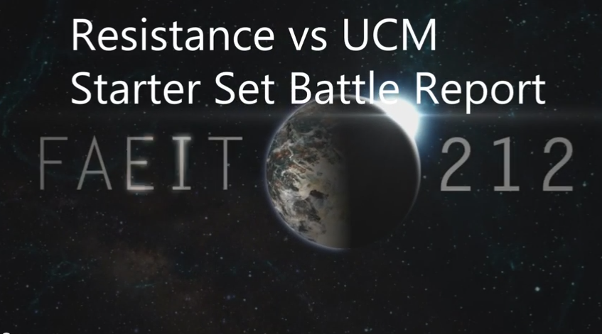Revelations On the Resistance: Starter Set Battle Report!
