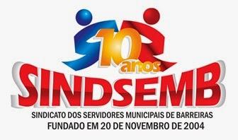 Sindicato dos Serv. Mun. de Barreiras/BA-SINDSEMB